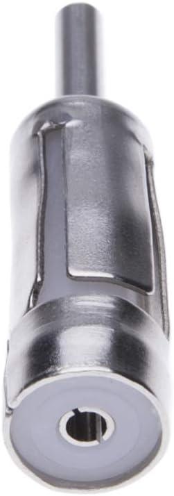 Auto Antennenanschluss Von Keple Fahrzeug Zubehörmarkt Antennenadapter Iso Zu Din Stecker Adapter Auto