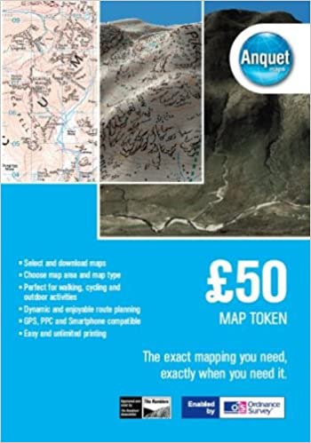 GBP 50 Map Token: Digital Mapping Enabled by Ordnance Survey