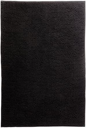 Ikea Toftbo Tapis De Bain Noir 60x90 Cm Amazon Fr Cuisine Maison