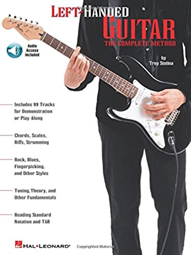 left handed guitar method amazon co uk troy stetina books rh amazon co uk Santos Hernandez Guitar Acoustic Guitar
