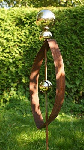 Gartendeko Modern rost skulptur modern 2017 gartendeko rost stecker mit 3