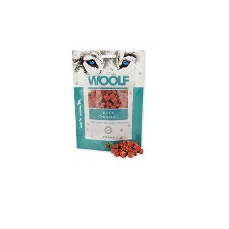 Woolf 100 gramos Aperitivo para perros de salm/ón blandos