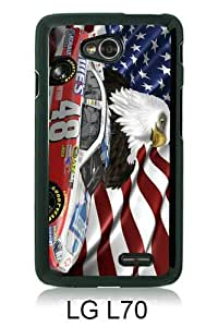 Jimmie Johnson Nascar (2) Black New Customized LG L70 Phone Case