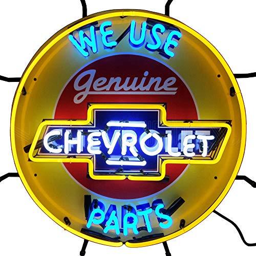 Chevrolet Neon Sign - Anaheim Neon Sign Angels