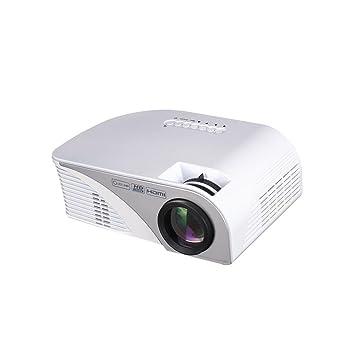 Mini proyector portátil, proyector multimedia de cine en casa ...