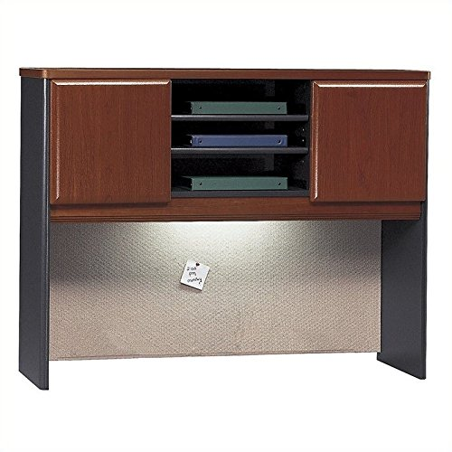 Bush Business Furniture Series A Collection 48W Hutch in Hansen Cherry by Bush Business Furniture (Image #1)