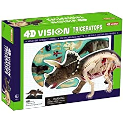 Famemaster 4D Vision Triceratops Anatomy Model by Fame Master