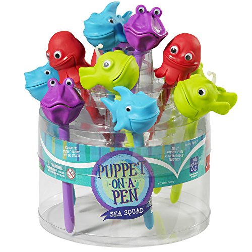 Educational Insights The Sea Squad Puppet-on-a-Pen Party Pack of 24 by Educational Insights (Image #13)