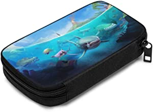 Electronics Travel Organizer Bag Hungry Shark World X iOS Android Shark Organizer Case for Electronics for Various USB Cables Earphone Charger Travel Office Electronic Personal Organizer
