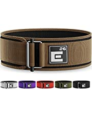 Self-Locking Weight Lifting Belt - Premium Weightlifting Belt for Serious Functional Fitness, Weight Lifting, and Olympic Lifting Athletes - Lifting Support for Men and Women - Deadlift Training Belt
