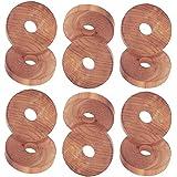 H & L Russel Cedar Rings, Beige by H & L Russel