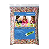 Styrofoam Arts Foam Balls, 50,000 Piece Mini Colorful Polystyrene Tiny Beads, Perfect for DIY Crunchy Slime, Kid's Craft, Wedding and Party Floral Decorative