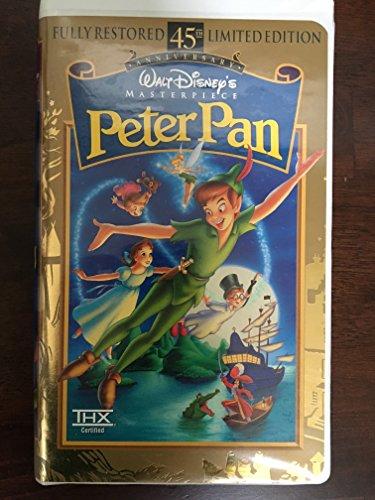 Disney Vhs Tapes - Walt Disneys Peter Pan