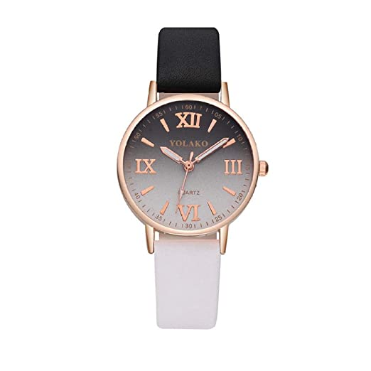 Reloj para Mujer Pulsera Reloj Cinturón de Regalo Reloj con ...