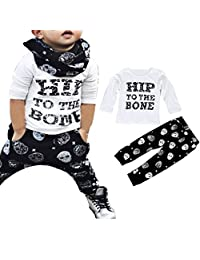 Toraway Toddler Newborn Baby Boys Clothing Set T-Shirt Tops + Pants Outfits Clothes