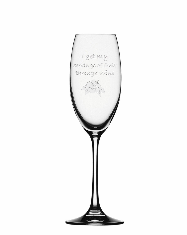 Amazon.com | Champagne Flute, Funny Champagne Glass, Personalized ...