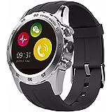 KINGWEAR KW08 1.22-inch HRM Camera GSM SIM Card NFC Smart Watch**