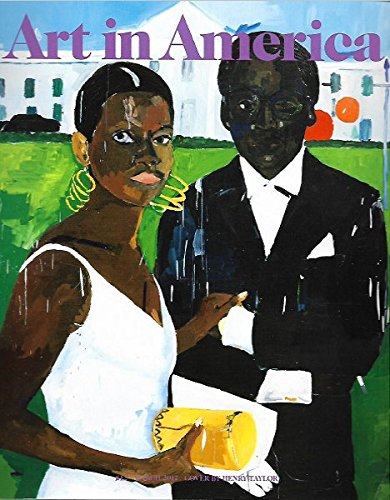 Art in America March 2017 HENRY TAYLOR, CICELY & MILES Visit The Obamas