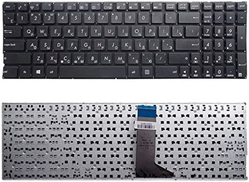 Durable XIAOMIN RU Keyboard for Asus X555 X555L X555LA X555LD X555LN X555LP X555LB X555LF X555LI X555U X555Y Color : Black Black