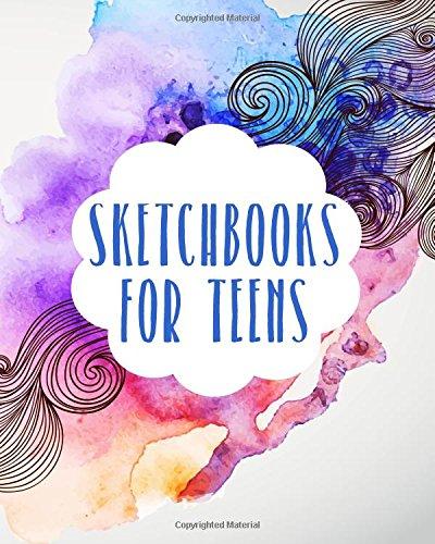 Sketchbooks For Teens: Bullet Grid Journal, 8 x 10, 150 Dot Grid Pages (sketchbook, journal, doodle)