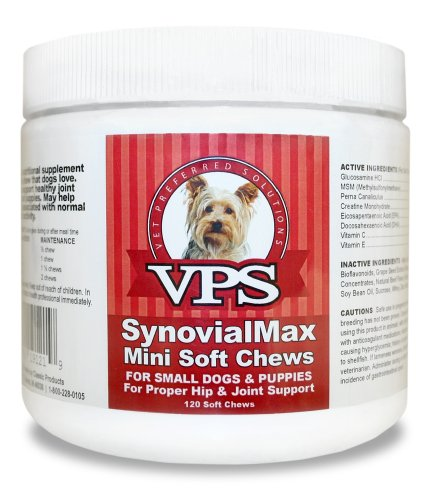 SynovialMax Soft Chew for Small Dogs, My Pet Supplies