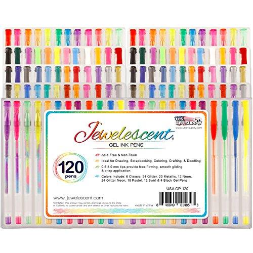 US Art Supply Jewelescent 120