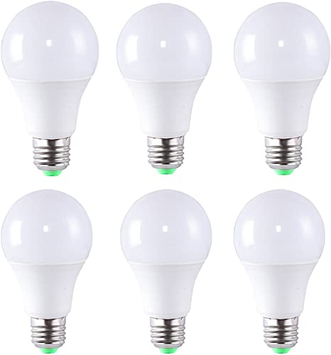 4 Pack 3W LED Bulb A19 E27,24W Incandescent Bulb Equivalent 220lm Medium Screw LED Light Bulb,Non-Dimmable Warm White 3000K