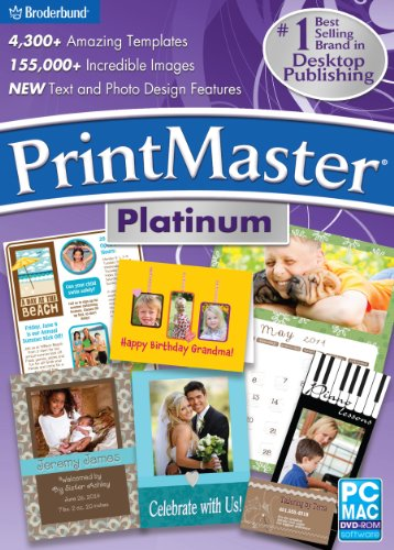Encore Software PrintMaster Platinum V6 (Home Publishing Software)
