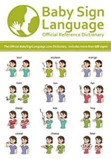 picture relating to Baby Sign Language Printable identified as Kid Indication Language - Formal Reference Dictionary