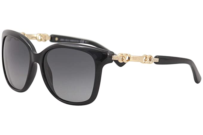 Amazon.com: Jimmy Choo – Gafas de sol, Color Bella/S/: Negro ...
