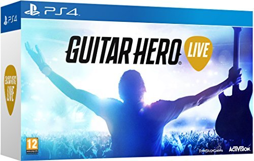 Guitar Hero Live with Guitar Controller (PS4) by - 4 Hero Guitar For Playstation
