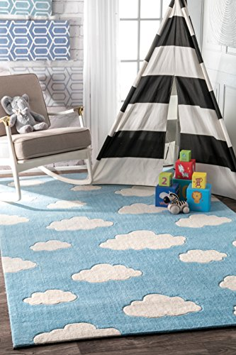 nuLOOM Cloudy Kids Rug is a fun small kids room idea