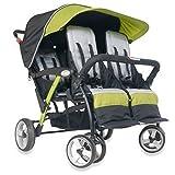 Childcraft The Quad Sport 4 Passenger Stroller, Lime