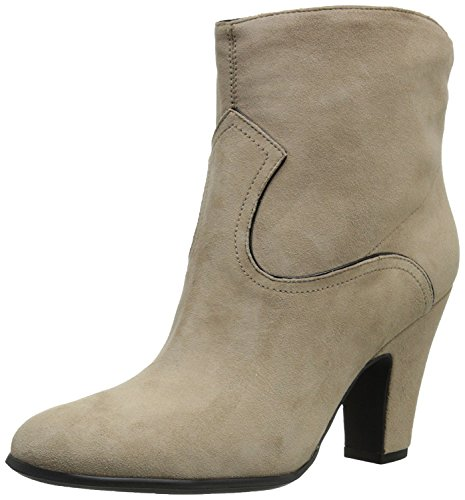 Nine West Womens Quarrel Suede Boot, Light Natural/Black, 35.5 B(M) EU/3.5 B(M) UK