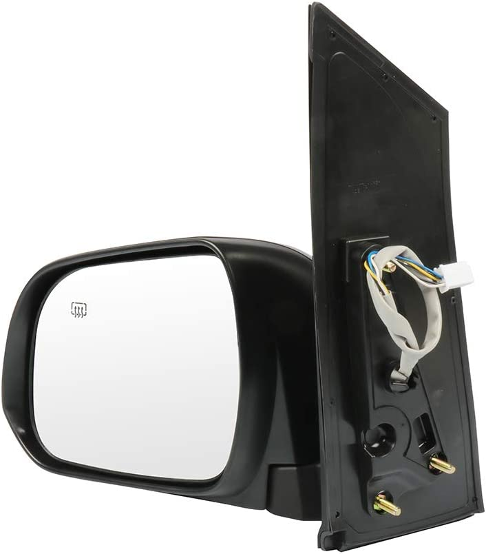 SCITOO Driver Left Side Mirror Flat Side View Mirror Fits for 2013-2014 TOYOTA SIENNA Power Control Heated Manual Folding 8794008094C0 TO1320287