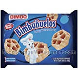 Sweet Baked Goods Bimbunuelos 2.3 Oz Packs Bimbo Crispy.