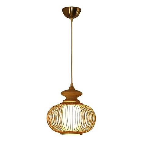 Amazon.com: FuManLi - Lámpara de araña de bambú para ...