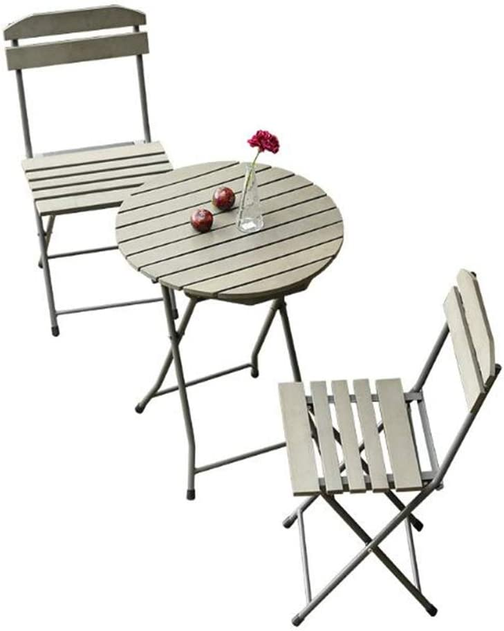 2 Pieces Wooden Garden Chairt Set Vanamo Collapsible Foldable Eucalyptus Wood