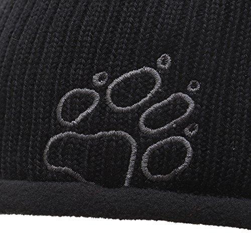 Stormlock Rip Wool Lined Mens Grey Hat Beanie Fleece Wolfskin Rap Black Jack EFx14qwE