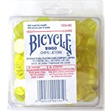 Bingo Chips Heavy Yellow Colour 200 Count Bicycle Brand