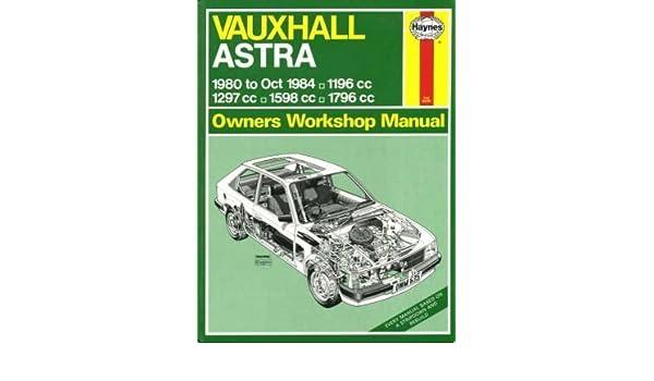 Vauxhall Astra 1980-84 Owners Workshop Manual (Service & repair manuals): Peter G. Strasman: 9781850101994: Amazon.com: Books