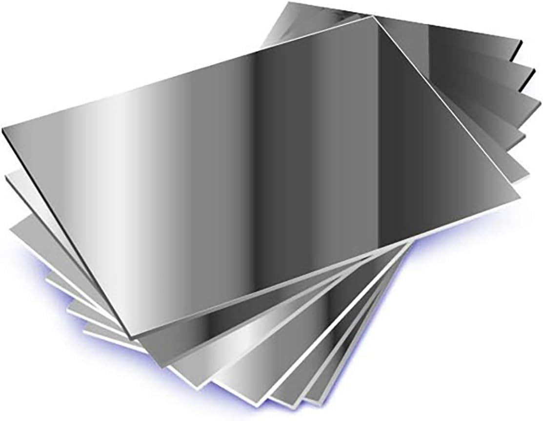 Juego de 10 espejos de plástico para colegio de tamaño A6 (15 cm x 10 cm)