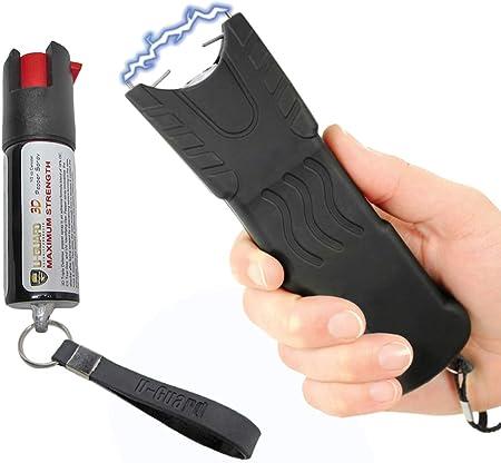 Police Stun Gun Heavy Duty Taser Flashlight
