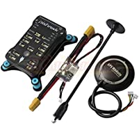 Hobbypower Pixhawk PX4 32Bit Flight Controller + NEO-7M GPS + Power Module + Shock Absorber for FPV Quadcopter Multirotor