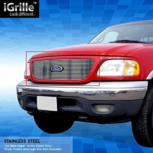 Off Roader eGrille Fits 1999-03 Ford F-150/ Lightning Honeycomb Stainless BGC Billet Grille ()