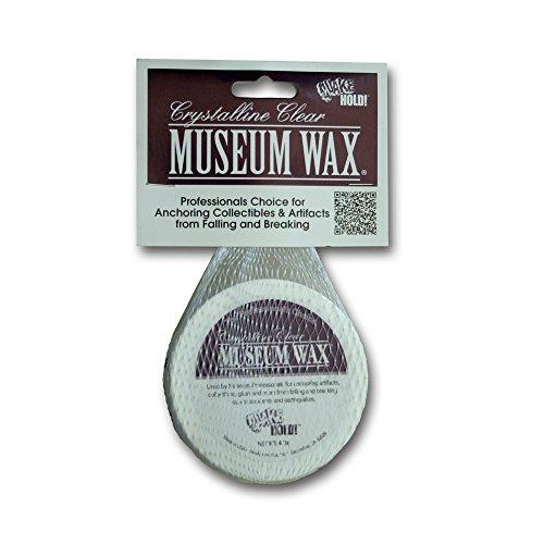 Quakehold! 55111 Ready America Quake Hold Museum Wax, 4 Oz, Crystalline, ()