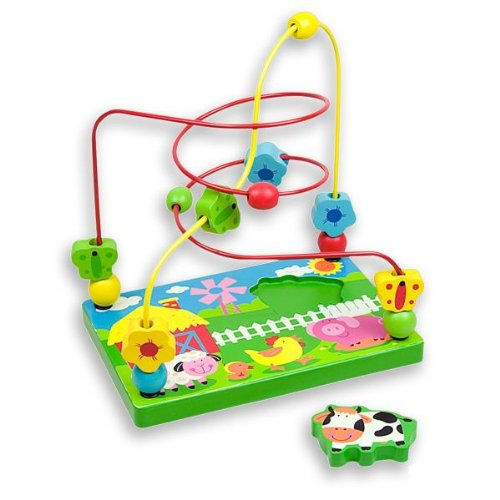 Andreu Toys 216 x 146 x 225 cm Cow Wire Labyrinth Medium Multi Colour