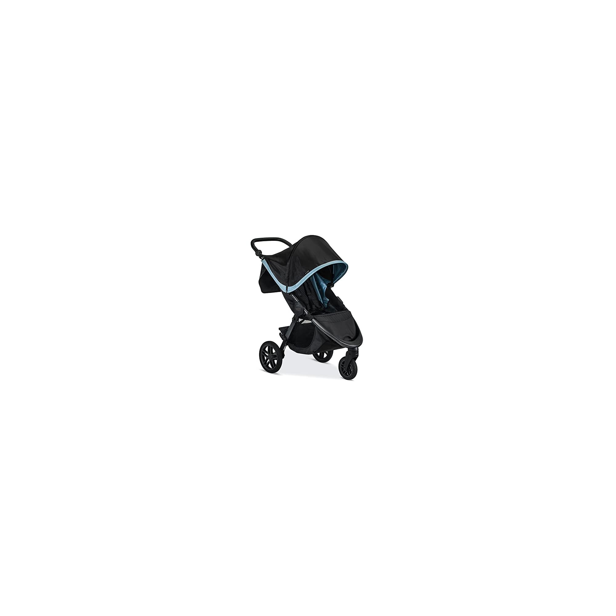 Britax B-Free Travel System with B-Safe Endeavours Infant Car Seat – Birth to 65 Pounds, Frost