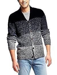COOFANDY Men's Shawl Collar Cardigan Sweater Button Down Knitwear