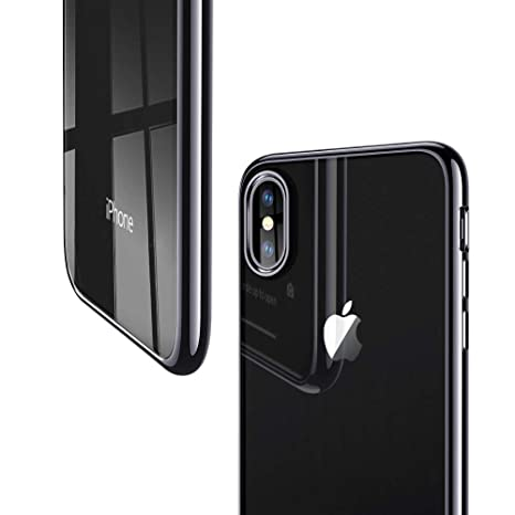 ESR Funda para iPhone XS/X, Funda Transparente Suave TPU Gel [Ultra Fina